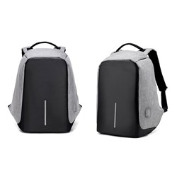 Milano Anti Theft Backpack Grey