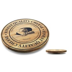 Salt & Pepper Fromage 35cm Acacia Lazy Susan with Printing