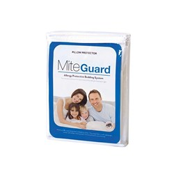 MiteGuard Standard Cotton Pillow Protector