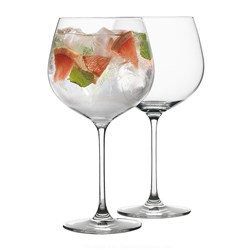 Ecology Classic Crystalline 4-Piece Gin Glass Set 780ml Clear