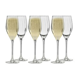 Ecology Twill Prosecco Glass 170ml Set of 6