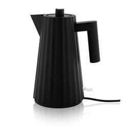 Alessi Plisse Electric Kettle 1.7L Black