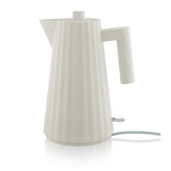 Alessi Plisse Electric Kettle 1.7L White