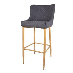 Florabelle Living Gigi Counter Stool Grey