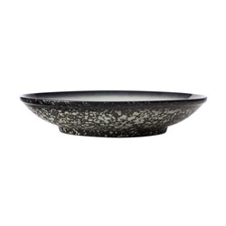Maxwell & Williams Caviar Porcelain Footed Bowl 25cm Granite