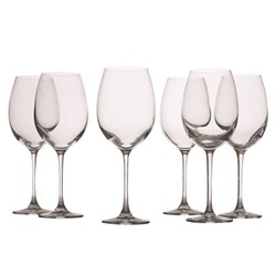 Maxwell & Williams Mansion Red Wine Glass 360ml Set of 6
