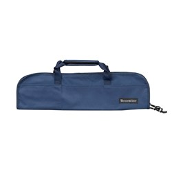 Messermeister 5 Pocket Padded Knife Roll Navy
