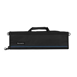 Messermeister 8 Pocket Padded Knife Roll Black