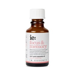 In Essence Focus & Memory Pure Essential Oil Blend 25ml