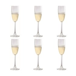 Cellar Tonic 6 Piece Flute Wine Glass Set 240ml