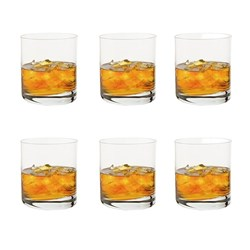 Cellar Tonic Double Old Fashioned 6 Piece Glass Set 330ml