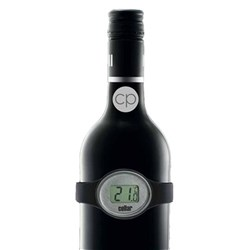 Cellar Premium Clip On Wine Thermometer with Digital Display