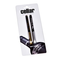 Cellar Glass Marker Pens 2 Pack