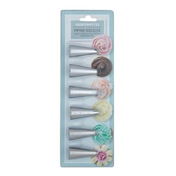 Soffritto Professonal Bake Stainless Steel Nozzle Set of 6