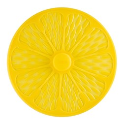 Scullery Essentials Airtight Silicone Lid 26cm Lemon Yellow