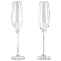 Cellar Premium 2 Piece Champagne Flute Set 210ml