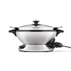 Breville The Hot Wok and Steam Electric Wok with Steamer 8L