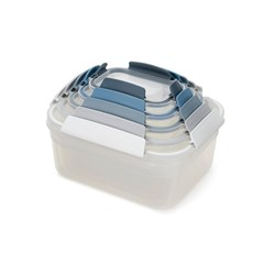 Joseph Joseph Editions Nest Lock 5 Piece Food Container Set Sky Blue