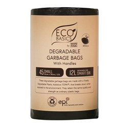 White Magic Eco Basics Garbage Bags Small