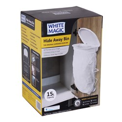 White Magic Hide Away Bin
