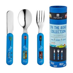 Ashdene On the Road 3 Piece Cutlery Set