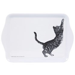 Ashdene Casual Cats Collection Scratching Cat Scatter Serving Tray