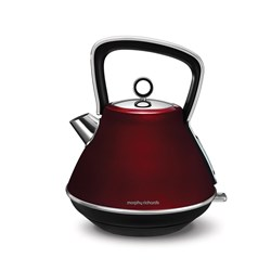 Morphy Richards Evoke Kettle Pyramid Red