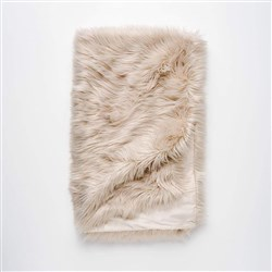 MyHouse Luxe Fur Throw Natural
