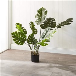 Alex Liddy Faux Monstera Plant 114cm