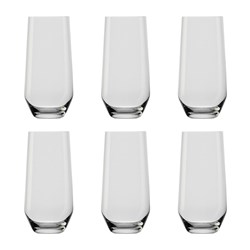 IVV by Noritake Tasting Hour 6 Piece Highball Glass Set 390ml