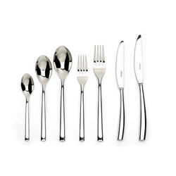 Noritake Rochefort 18/10 Stainless Steel 56 Piece Cutlery Set