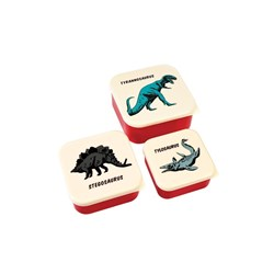 Rex London Snack Boxes Prehistoric Land Set of 3