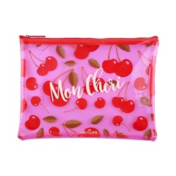 Sunnylife See Thru Pouch Cherry