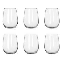 Alex Liddy Vina 550ml Stemless Wine Glass - Set of 6
