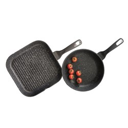 Baccarat Granite Grill Twin Pack 26cm & 28cm