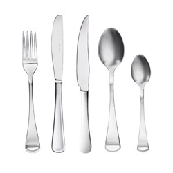 Alex Liddy Aquis Stainless Steel 40 Piece Cutlery Set