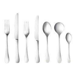 Alex Liddy Aquis 56 Piece Stainless Steel Cutlery Set