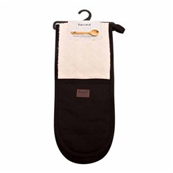 Baccarat Kitchen Double Oven Glove Black