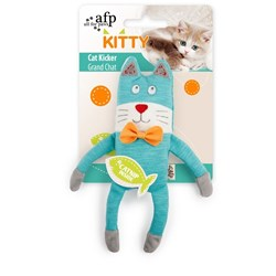 All For Paws Cat Kicker Turquoise Cat Toy