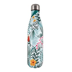 h2 hydro2 Double Wall Stainless Steel Water Bottle 750ml Jungle