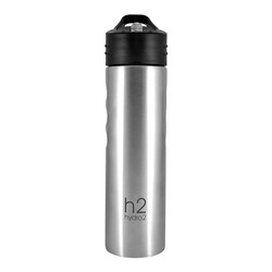 h2 hydro2 Fit Stainless Steel Water Bottle 750ml