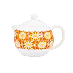 Marie Claire Mosaique Teapot 450ml Red
