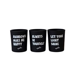 Jewelchic II Votive Candle Set of 3