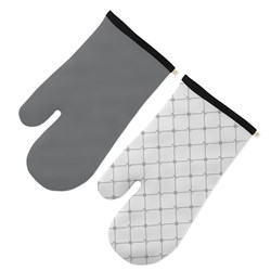 Marie Claire Art Deco Oven Glove Set of 2