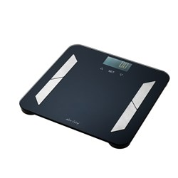 Alex Liddy Bathroom Body Fat Scale Black