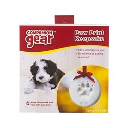 Companion Gear Christmas DIY Pawprint Keepsake
