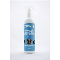 Petway Petcare Powder Cologne Coat Gloss 250ml