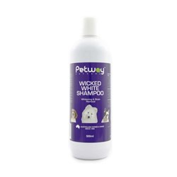 Petway Petcare Wicked White Dog Shampoo 500ml