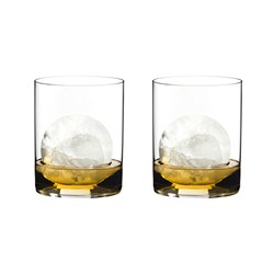Riedel H2O Classic Bar 2 Piece Crystal Whisky Glass Set 430ml