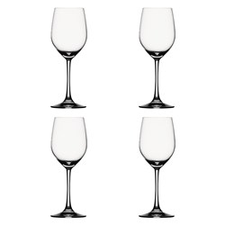 Spiegelau Vino Grande 4-Piece Crystal White Wine Glass Set 330ml